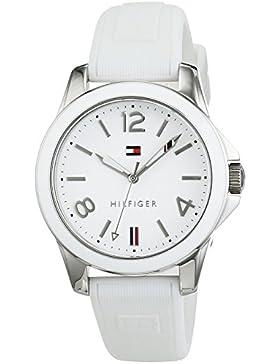 Tommy Hilfiger Damen-Armbanduhr Casual Sport Analog Quarz Silikon 1781680