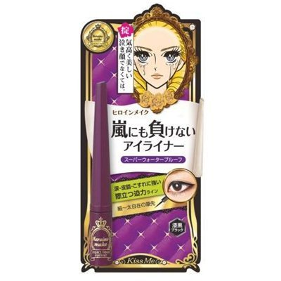 Isehan - Kiss Me heroine make | Fake Eyelash | Impact Liquid Eye Liner 01 Jet Black 2.5g @