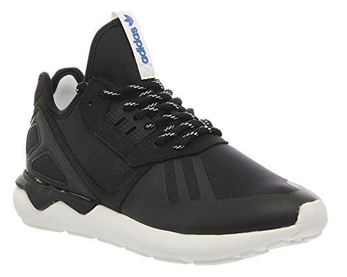 adidas Tubular Runner - Zapatillas para hombre, color negro / blanco, talla 38