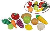2 Netze Obst und Gemüse Lebensmittel für Spielküche Kaufladen 22 tlg