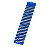 homswitch Welding Lanthanated Tungsten Electrode Silver&Blue Pack of 10 (1.6mm x175mm)