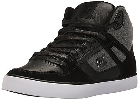 DC Shoes Men's Spartan HighWC SE Hi Top Shoes Black (KSD) 12.5 (Black Christmas Music Mix)