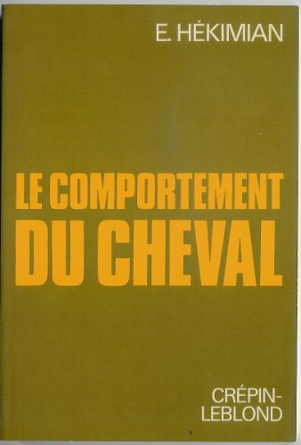 Comportement du cheval (le) 051893