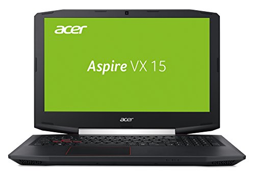 Acer Aspire VX 15 (VX5-591G-73WY) 15,6 Zoll (39,62 cm) Full-HD IPS (matt), Intel Core i7-7700HQ, 8GB RAM, 128GB SSD + 1000GB HDD, NVIDIA GeForce GTX 1050 (4GB GDDR5 VRAM), Win 10 Home) schwarz