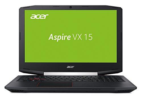 Acer Aspire VX 15 (VX5-591G-5952) 15,6 Zoll (39,62 cm) Full-HD IPS (matt) (Intel Core i5-7300HQ, 8 GB RAM, 128 GB SSD + 1.000 GB HDD, NVIDIA GeForce GTX 1050 (4 GB GDDR5 VRAM), Win 10 Home) schwarz -