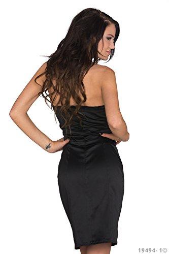 jowiha - Robe - Cocktail - Femme Small Noir