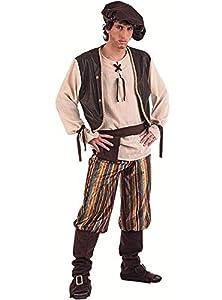 Limit Sport - Disfraz de tabernero medieval para adultos, talla L (MA856)