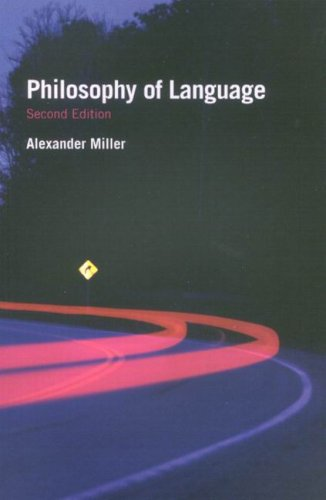 Philosophy of Language (Fundamentals of Philosophy)