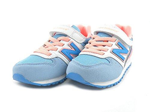 Basket, couleur Blue , marque NEW BALANCE, modèle Basket NEW BALANCE KV996 ALY Blue bleu clair
