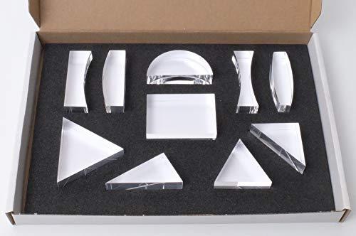 TickiT 48160 Conjunto de diez prismas, ciencia óptica
