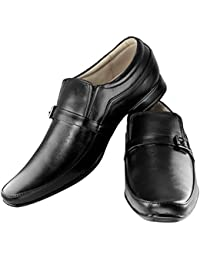 Tapps Men's Genuine Leather British Formal Shoes Slip on