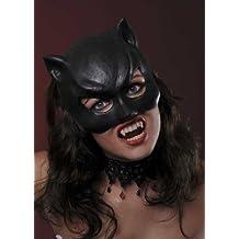 Máscara de gato de Catwoman negra damas