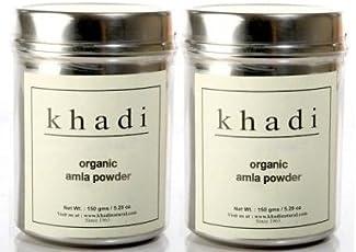 Khadi Natural Organic Amla Powder 150 gm (set of 2)