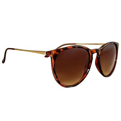 Eye Love Women's Polarized Sunglasses UV Block Brown