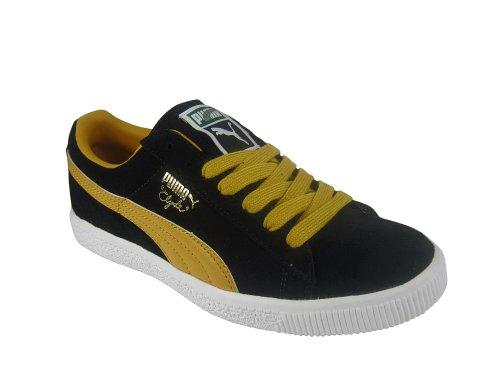 Puma Clyde Sript black/mineral yellow Black/Yellow