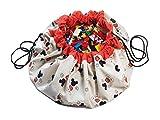 Play&Go Spielzeugsack/Spielmatte 140cm, Disney Mickey Maus Cool