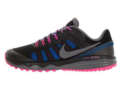 Nike Wmns Dual Fusion Trail 2, Scarpe da Corsa Donna Nero (Negro (Black / Drk Grey-Pnk Blst-Pht Bl))