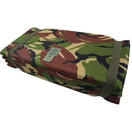 41ZLcX%2BQ2ML. SS500  - Highlander Z Army Sleeping Mat Folding Fold Up Camping Mattress Foam DPM Camo