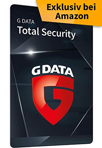 G DATA Total Security 2020 | 5 Geräte - 1 Jahr, Scratchcard | Antivirus für Windows, Mac, Android, iOS | Made in Germany