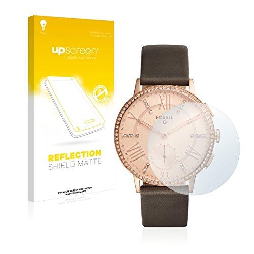 upscreen Reflection Shield Matte Bildschirmschutz Schutzfolie für Fossil Q Gazer (matt - entspiegelt, hoher Kratzschutz)