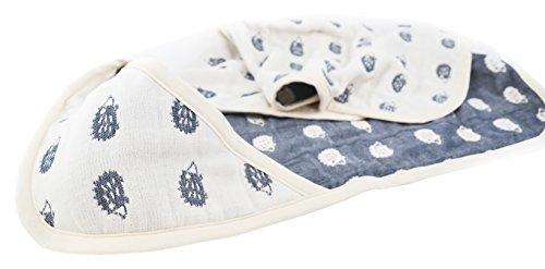 lucky-ma-premiere-couverture-avec-motif-herisson-en-mille-feuille-de-coton-bleu-70-x-70-cm
