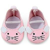 Gotz 3402539 Mouse Shoes - Size S - Dolls Clothing - Suitable For Baby Dolls Size S (30 - 33 cm)