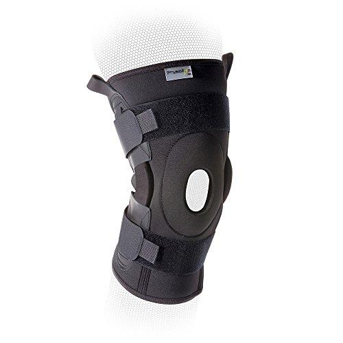Physioroom Advanced - Kniebandage mit Scharnier - zum Wickeln - Extra Groß