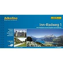 bikeline Radtourenbuch, Inn- Radweg Teil 1: Vom Malojapass durchs Engadin nach Innsbruck, wetterfest/reißfest
