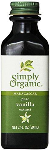 Madagascar Pure Vanilla Extract, Farm Grown , 2 fl oz (59 ml) - Simply Organic