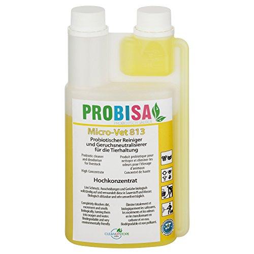 PROBISA Geruchsneutralisierer gegen Gerüche von Katzen-Urin, Hund, Nager und Haustiere (Konzentrat ergibt 25 Liter gebrauchsfertiges Bio Reinigungsmittel) - Teppich-reiniger Katzenurin Für