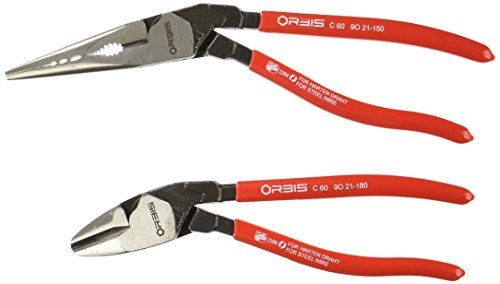 Grip On KNP9K008097US Pliers Set (Orbis 2-Piece Angled) by Grip On