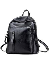 Mochila de mujer Switchali Mujeres Estudiante Casual Bolso de Escuela Moda PU Cuero Mochila Bolsas de Viaje pequeña mochila mochila escuela libro Bolso de hombro de mujer baratos