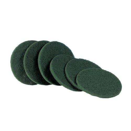 Electrolux VD45 - Set de discos para enceradora (6 discos), color verde