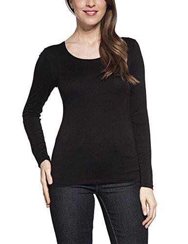 Bréal Damen T-Shirt 5610013 Schwarz - Schwarz
