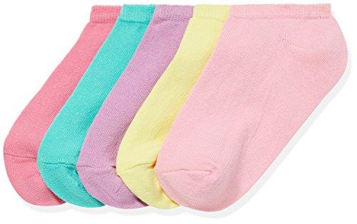 RED WAGON Girl's Basics Trainer Multi Ankle Socks pack of 5