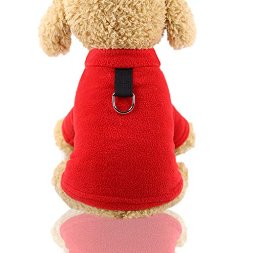 Haustierkleidung Hundepullover, Hawkimin Winter Haustier Katze Hundebekleidung Warm Jacke Mantel Classic Sweater Pullover Kleidung Kostüm Sweatshirt Hunde für Kleinen Hund/Katze
