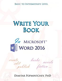 Write Your Book in Microsoft Word 2016 (non-scientific) (English ...