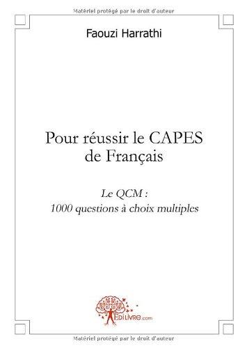 Pour réussir le CAPES de Français