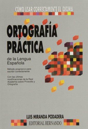 Ortografia practica de la lengua española