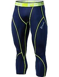 Tesla Homme Cool Compression sèche caleçons Shorts Capri P15