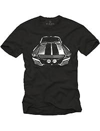 Ford Mustang T-Shirt ELEANOR Noir S-XXXL