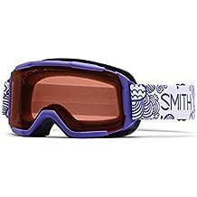 Gafas de nieve Niños Smith Dare Devil 9587Fridays Girls, color morado - rc36 rosec af, tamaño talla única