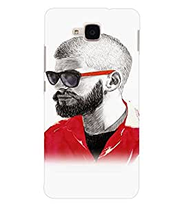 EPICCASE Guy with a beard Mobile Back Case Cover For Huawei Honor 5c (Designer Case)