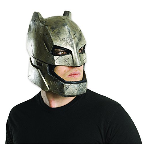 Batman vs Superman Maske aus Vinyl Batman Armoured für ()