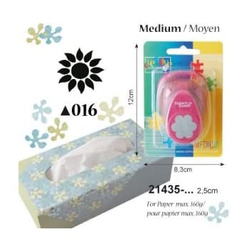 Scrapbooking for DIY Projects Multi-Colour Vaessen Creative Craft Paper Pop Up Punch Butterfly 12 x 8.5 x 4.5 cm Card Making and More