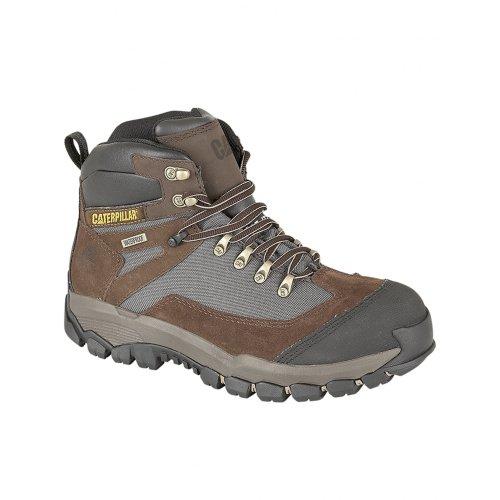 Caterpillar Knightson - Chaussures montantes de sécurité - Homme Marron