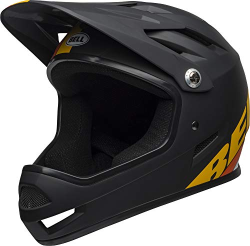 BELL Sanction MTB - Casco Integrale, Unisex, BEHSANB3M, Agility Matte Black, Medium/55-57 cm