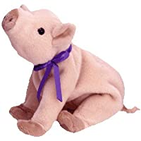TY Beanie Baby - Knuckles, the Pig