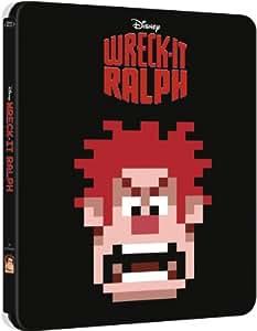 Steelbook Blu ray Les Mondes de Ralph Edition Collector Boitier Métal Limitée a 5000 exemplaires dans le monde (IMPORT)