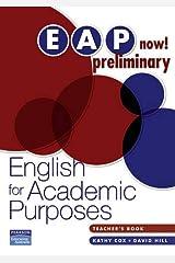 EAP Now! Preliminary Teacher's Book Taschenbuch